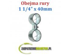 "Obejma rury 1 1/4"" - 40mm Ósemka"