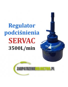 REGULATOR PODCIŚNIENIA SERVAC 3500L/min