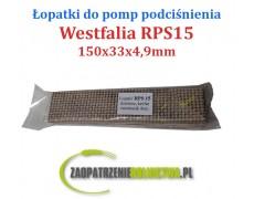 Łopatka do pompy RPS15 Kevlar 4szt. dzielone