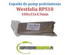 Łopatka do pompy RPS10 Kevlar 4szt. dzielone