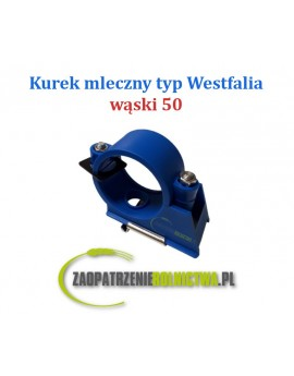 KUREK MLECZNY WF WĄSKI 50mm