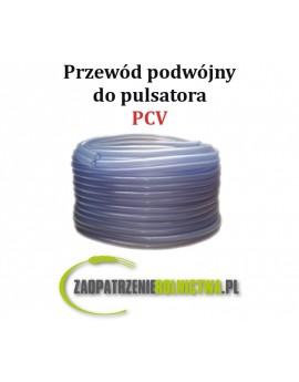Przewód podwójny podciśnienia PVC 2x 7/13, 1m