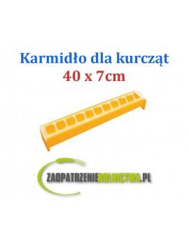KARMNIK DLA PISKLĄT 40x7cm