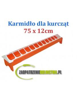 KARMNIK DLA KURCZĄT 75x12cm