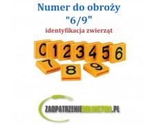 """Numer identyfikacyjny do obroży """" 3 """" 1szt."""