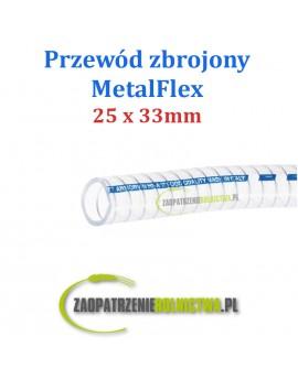 Przewód do transportu mleka Metalflex/Armorvin 25 x 33 mm 1 m