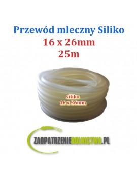 PRZEWÓD MLECZNY siliko 16x26mm 250cm