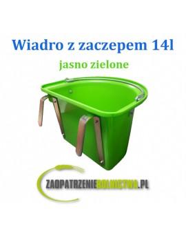 WIADRO Z ZACZEPEM I UCHWYTEM 14-LITROWE FIOLETOWE