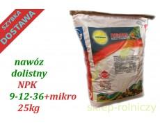 ROSASOL NPK 9-12-36 25kg