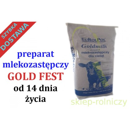 GOLD FEST 20KG MLEKO OD 14 DNIA