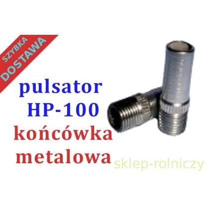 KOŃCÓWKA METALOWA  HP-100