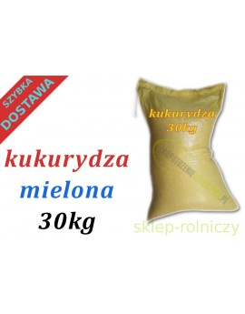 KUKURYDZA DROBNO MIELONA 30kg