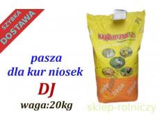 PASZA DLA KUR NIOSEK DJ 10KG KRUSZONKA UNIPASZ