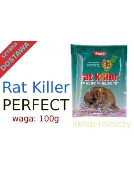 RAT KILLER 100g GRANULAT NA MYSZY SZCZURY TRUTKA