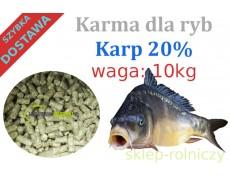 UNIPASZ KARP 20% a10kg