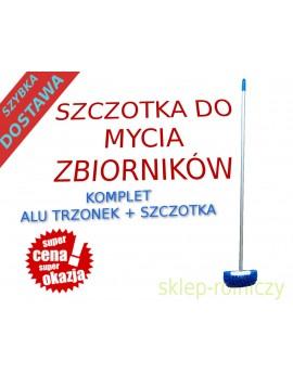 SZCZOTKA + TRZONEK DO MYCIA ZBIORNIKA HIT