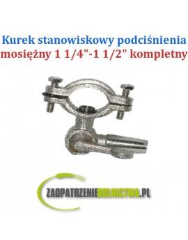 """KUREK STANOWISKOWY PODCIŚNIENIA 3/4""""-1"""" MOSIĘŻNY"""