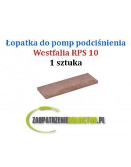 Łopatki do pompy RPS 10 komplet 1 szt.