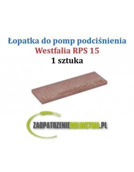 Łopatka do pompy RPS 15 1szt.