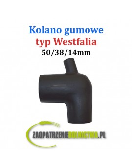 Kolano Gumowe typ Westfalia 50/28/14