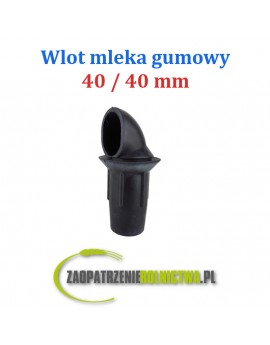WLOT MLEKA GUMOWY 40 / 60 mm