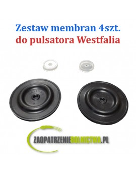 MEMBRANA SILIKONOWA DUŻA PULSATORA WESTFALIA CONST 54x7
