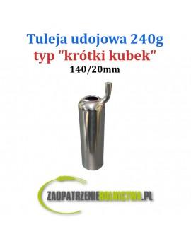 Tuleja udojowa typ Krótki kubek 1szt.