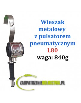 WIESZAK STALOWY Z PULSATOREM PNEUMATYCZNYM L90