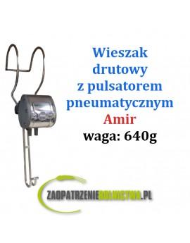 WIESZAK METALOWY Z PULSATOREM PNEUMATYCZNYM L80