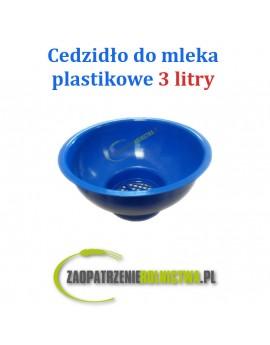 CEDZIDŁO PLASTIKOWE 125mm 3L