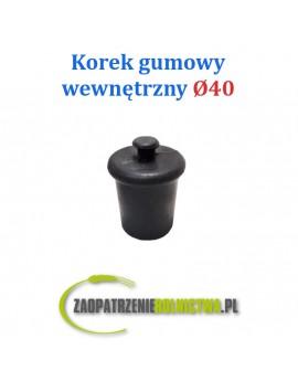 Korek gumowy wewnętrzny 38mm rurociągu