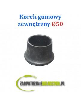 Korek gumowy zewnętrzny 50mm rurociągu