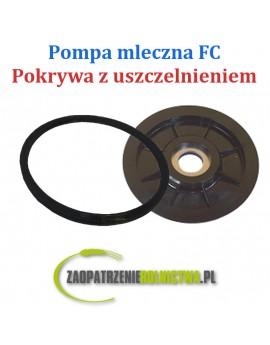 POKRYWA Z USZCZELNIENIEM POMPY MLECZNEJ FC
