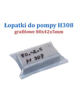 ŁOPATKI POMPY H308 GRAFITOWE 4szt.