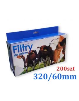 FILTRY RUROWE 320X60mm 200szt. AGROD