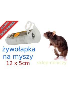 ŻYWOŁAPKA NA MYSZY 12 X 5 cm